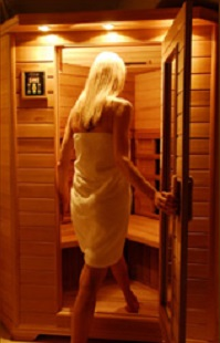 Sauna Warming Heat