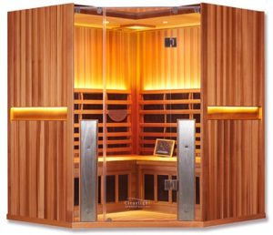 Clearlight Premier IS-C Corner Sauna