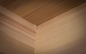 HealthMate Sauna Wood