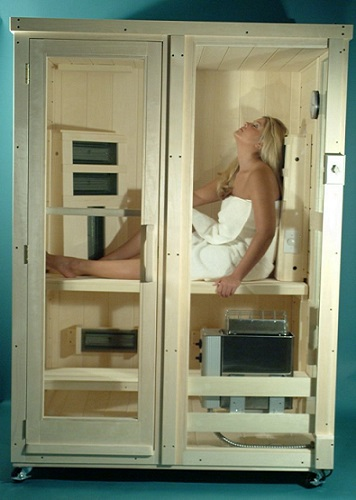 Heavenly Heat Saunas Combination Sauna
